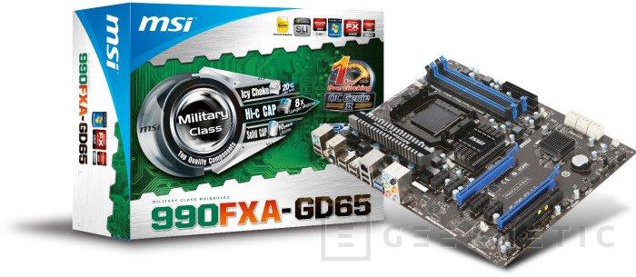 Nuevas MSI con chipset 990FX de AMD, Imagen 1