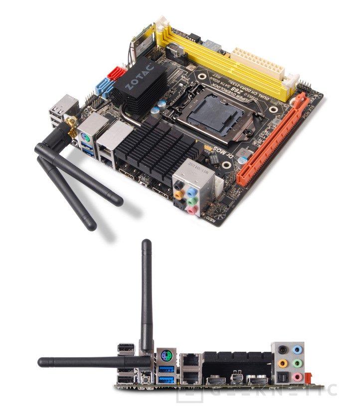 Zotac presenta una nueva generación de placas Z68 en formato Mini-ITX, Imagen 1