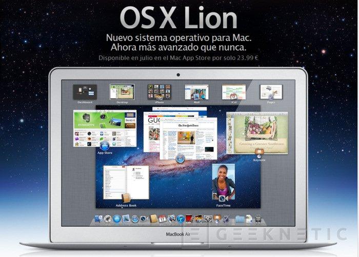Apple MacOS X Lion, Imagen 1