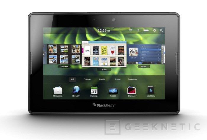Blackberry Playbook llega a España, Imagen 1