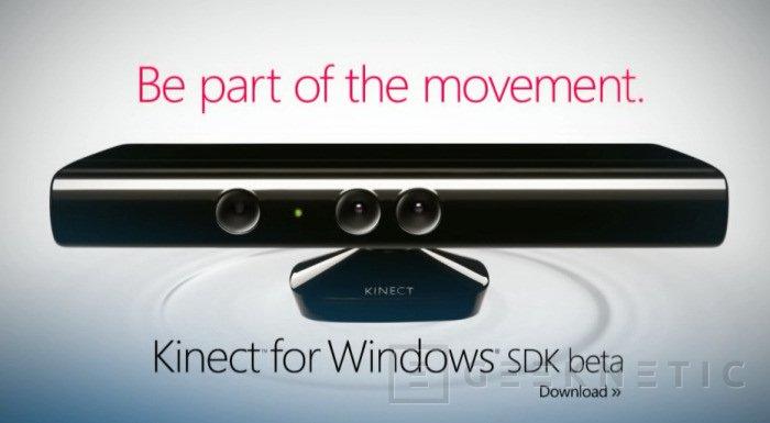 Kinect ya es compatible con Windows, Imagen 1