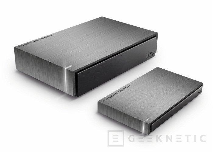 Nuevos discos duros LaCie diseñados por Porsche, Imagen 1
