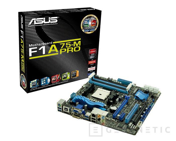 ASUS presenta la serie F1A75 para procesadores A6 y A8 de AMD, Imagen 1
