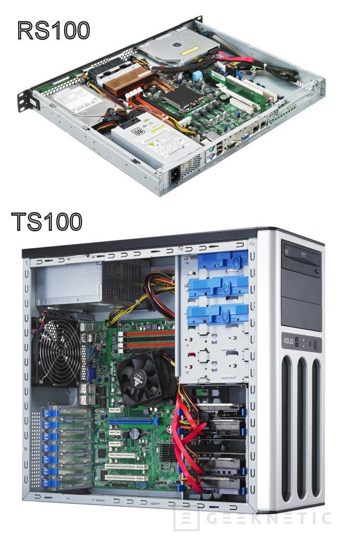 ASUS actualiza sus gamas de servidores RS y TS, Imagen 1