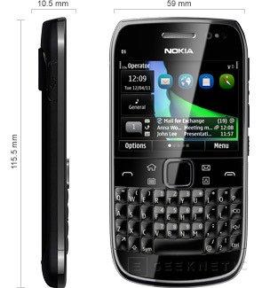 Nokia E6 ya disponible en España, Imagen 1