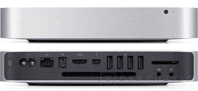 El nuevo Mac mini tambien recibe procesadores y gráfica, Imagen 1