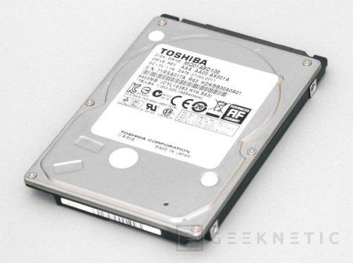 1TB de capacidad en 9.5mm de la mano de Toshiba, Imagen 1