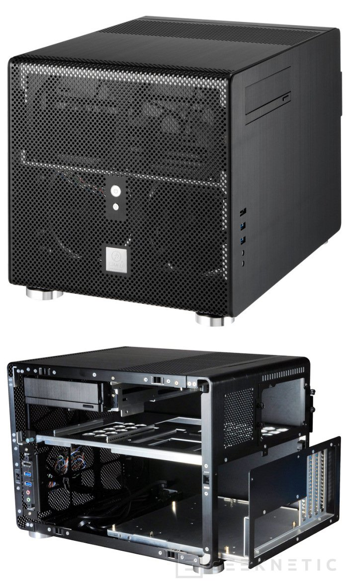 Nuevas PC-V353 y PC-Q25 de Lian Li, Imagen 1