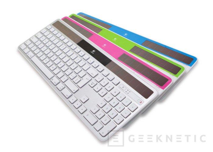 Logitech lanza una edición Mac del K750, Imagen 1