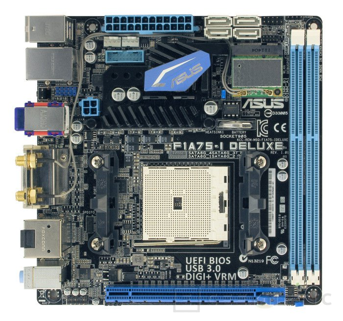 ASUS F1A75-I Deluxe, Imagen 1