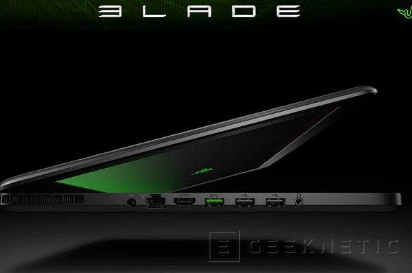 Razer sorprende con el lanzamiento de un portátil: el Blade, Imagen 2