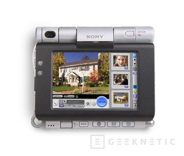 Sony presenta el CLIÉ PEG-UX50, Imagen 1