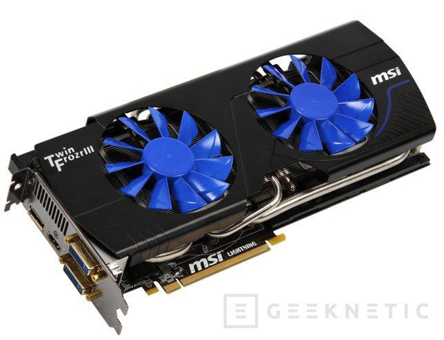 MSI Nvidia Geforce N580GTX Lighting Xtreme edition, Imagen 1