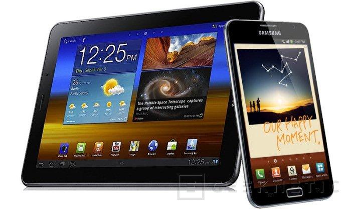"""Samsung introduce dos nuevas tabletas, de 5,3"""" y 7,7"""" de pantalla, Imagen 1"""