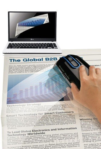 Ya está disponible el Ratón escáner de LG, Imagen 2