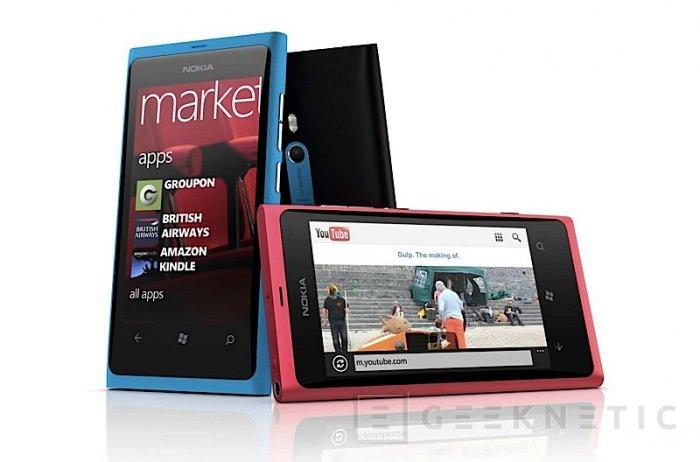 Nokia introduce sus primeros terminales Windows Phone, Imagen 1