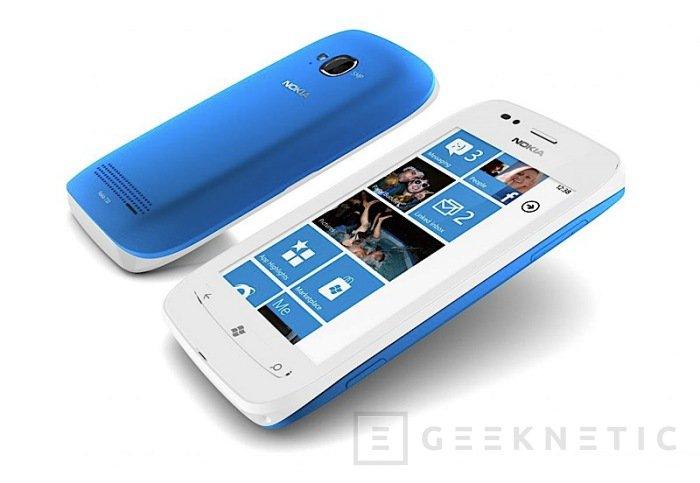 Nokia introduce sus primeros terminales Windows Phone, Imagen 2