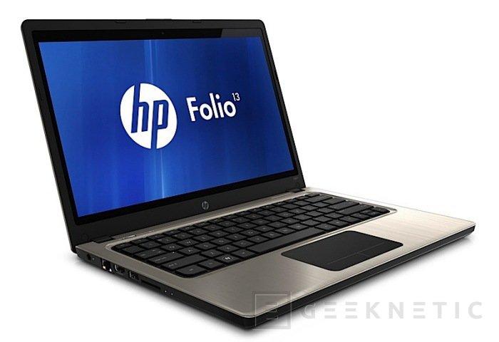 Folio 13. HP entiende la parte económica de los Ultrabook, Imagen 1