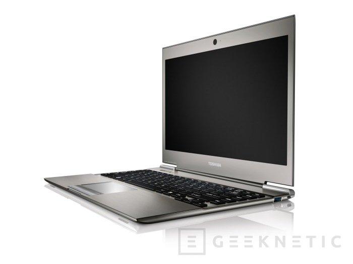 Toshiba oficializa la disponibilidad del Z830 en España, Imagen 1