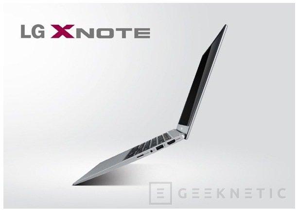 LG se suma a moda ultrabook con el XNote Z330, Imagen 1
