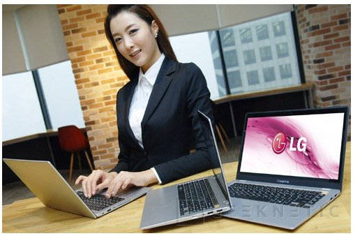 LG se suma a moda ultrabook con el XNote Z330, Imagen 2