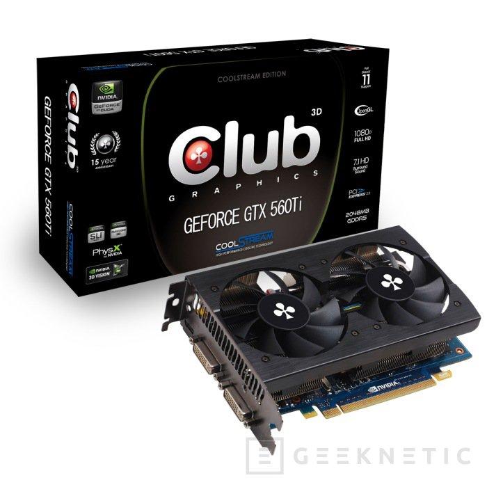 Club3D lanza una nueva GTX 560Ti, Imagen 1