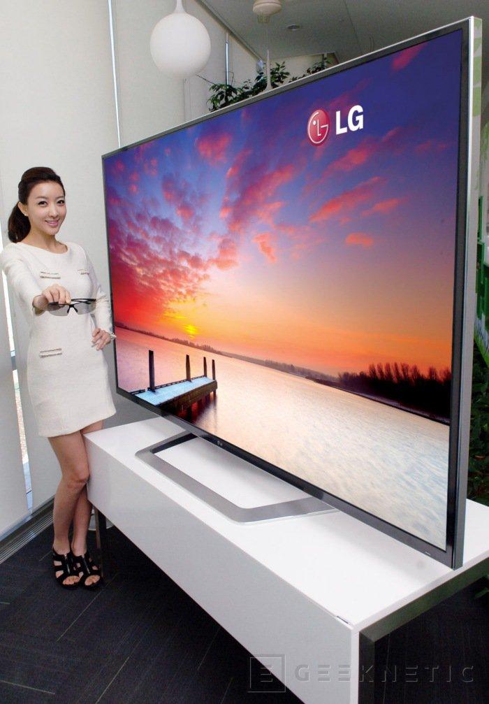 LG presenta el primer televisor 4k 3D comercial, Imagen 1