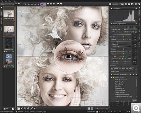Corel presenta el nuevo Aftershot Pro, Imagen 1