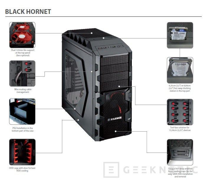 Xilence amplia la gama Interceptor con la nueva Black Hornet, Imagen 2