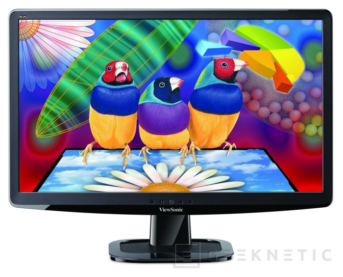 ViewSonic VX2336s-LED con SuperClear IPS, Imagen 2