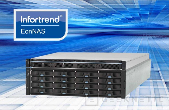 Infortrend introduce su nueva serie EONNAS 5000, Imagen 1