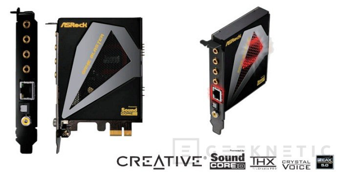 """Asrock lanza la tarjeta """"Game Blaster"""" para placas Z79, Imagen 1"""
