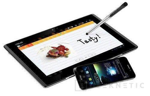 WMC 2012. ASUS PadFone para el mes de Abril, Imagen 1
