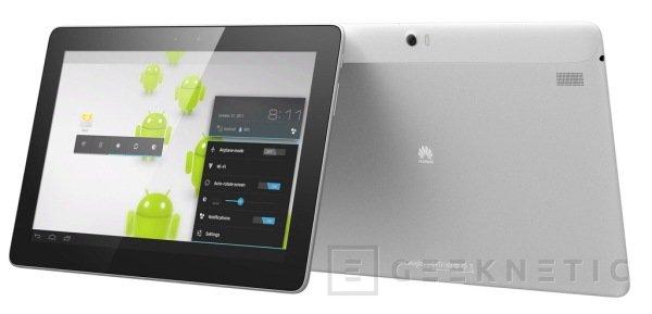 WMC 2012. Huawei desarrolla su Tablet de altas prestaciones, Imagen 1