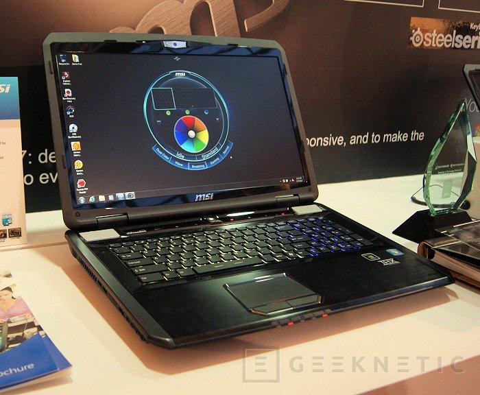 CeBit 2012. MSI renovara su gama de portátiles gaming, Imagen 1