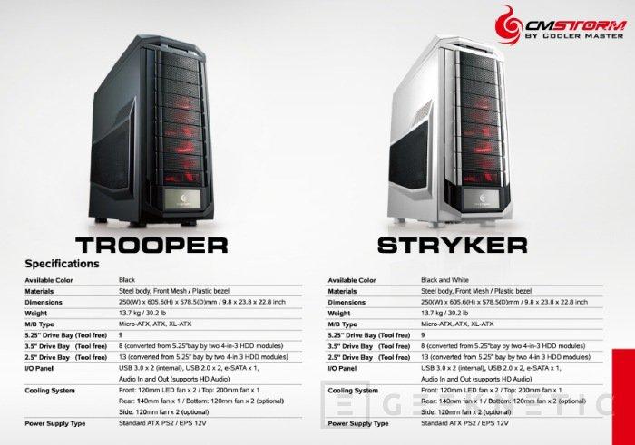 CeBit 2012. Cooler Master tiene novedades en su gama CM Storm, Imagen 1