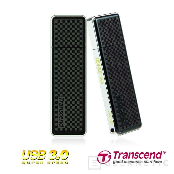 Trances lanza la serie Jetflash 780 de Pendrive USB 3.0, Imagen 1