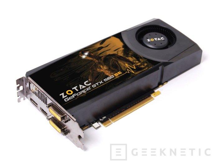 Zotac lanza su nueva Nvidia GTX 560SE, Imagen 1