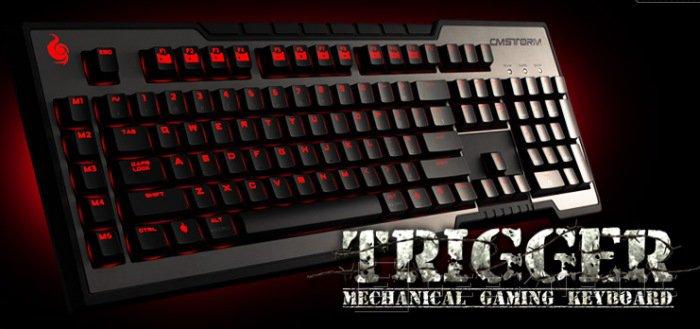 CMStorm presenta un nuevo teclado gaming: el Trigger, Imagen 1