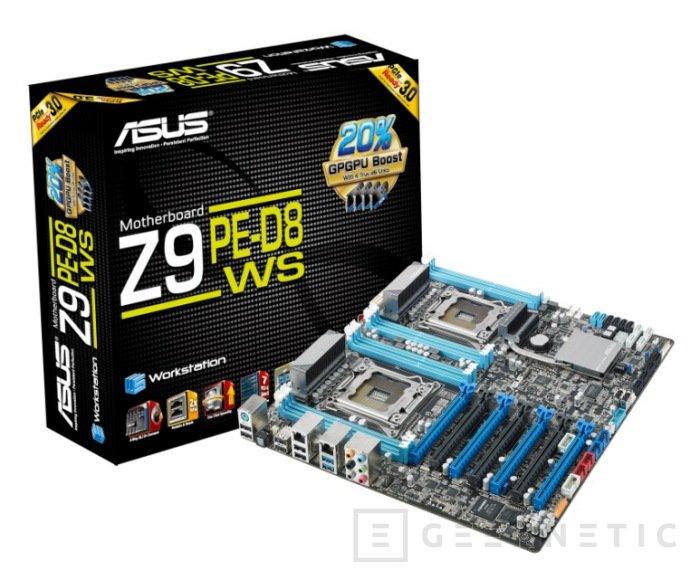 La gama WS de ASUS recibe un refuerzo de lujo: Z9PE-D8 WS, Imagen 1
