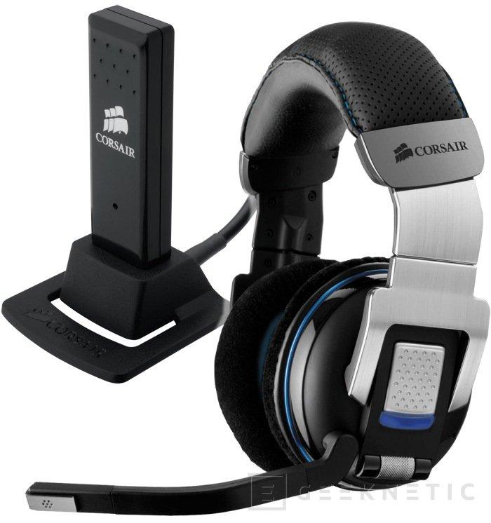 Corsair presenta nuevos auriculares y nueva caja gaming, Imagen 1