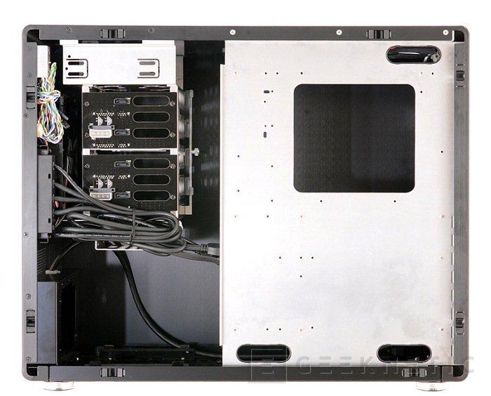 El chasis más pequeño de Lian Li para placas ATX se llama V700, Imagen 2