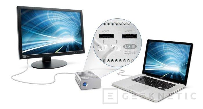 Lacie introduce un nuevo Hub eSATA con conexión Thunderbolt, Imagen 1