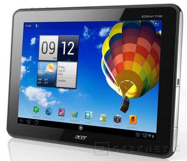 Acer comienza la comercialización del Iconia A510, Imagen 1
