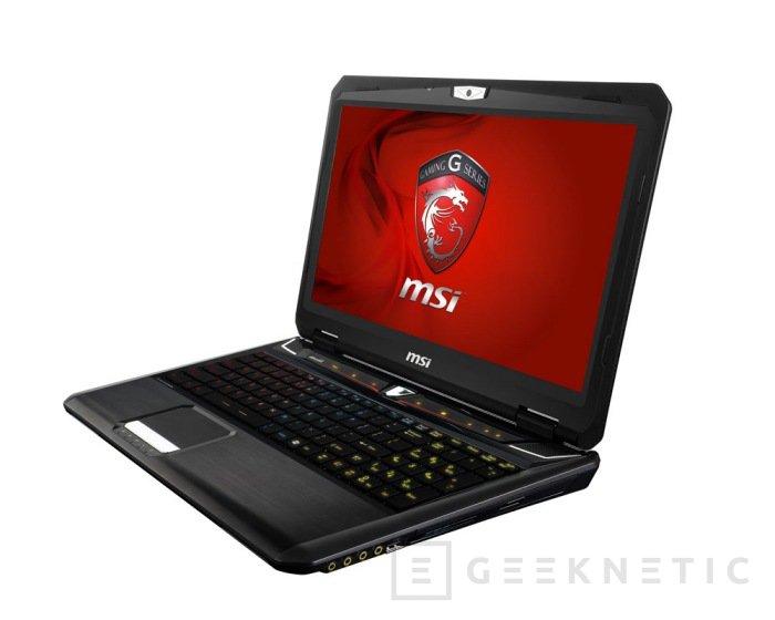 MSI GT60 y GT70. Portátiles Gaming Ivy Bridge renovados, Imagen 2