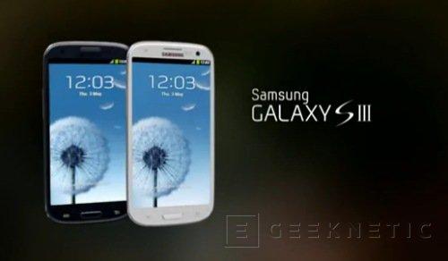 Samsung presenta el nuevo Galaxy S 3, Imagen 1