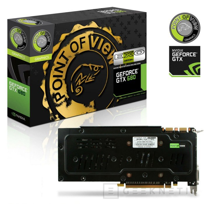 Point of View Geforce GTX 680 EXO, Imagen 2