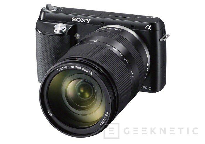 La gama NEX de Sony recibe a la nueva F3, Imagen 1