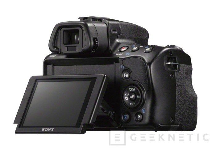 Nueva DSLR α37 de Sony, Imagen 2