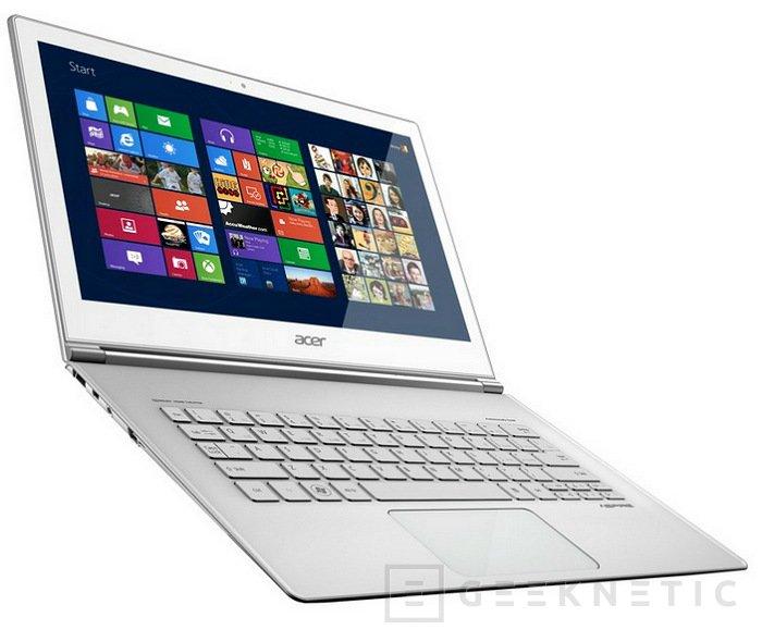 Computex 2012. Acer. Nuevo Aspire S7, Imagen 1